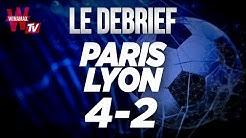⚽  PARIS 4 - 2 LYON / Football; psg ol