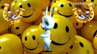 C 1 апреля - Поздравляет всех Зайка - Виртуальная открытка от Happy Зайки ZOOBE