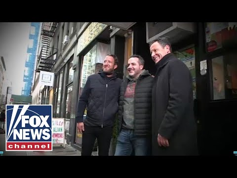Dave Portnoy's emotional surprise to business owner he helped save