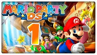 Let's Play MARIO PARTY DS Part 1: Micro-Party in Wigglers Gartenlaube!