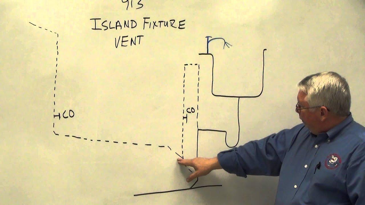 Kitchen Island Vent Loop island fixture vent 2 - youtube