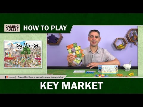 Key Market - How to play tutorial video from Gaming Rules! thumbnail