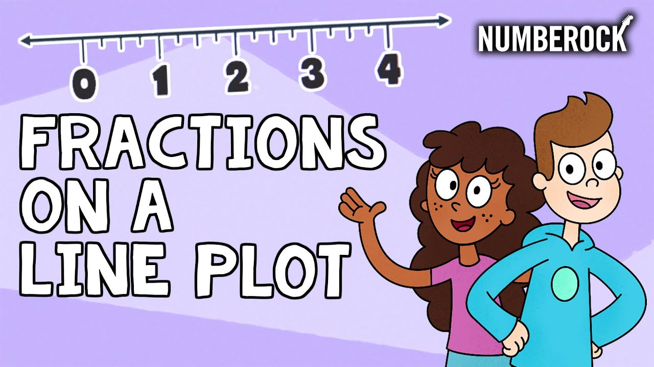 small resolution of Fractions on a Line Plot Song   4th Grade \u0026 5th Grade - YouTube