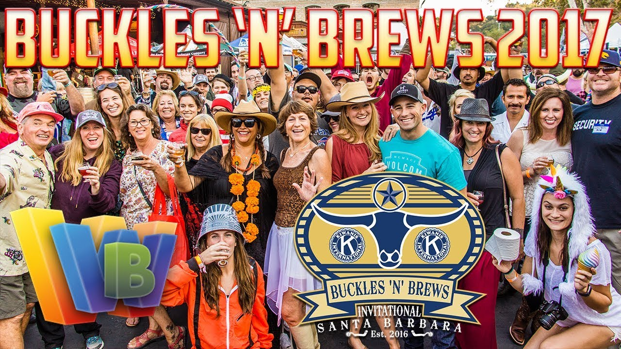 Buckles 'N' Brews Invitational Santa Barbara Beer Festival 2017