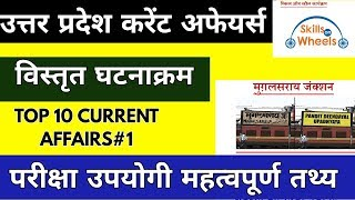 up current affaris|| uttar pardesh current affairs in hindi|| up current gk