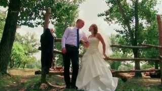 Динамичная свадебная прогулка