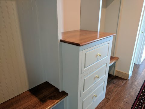 DIY Mud Room Cabinets