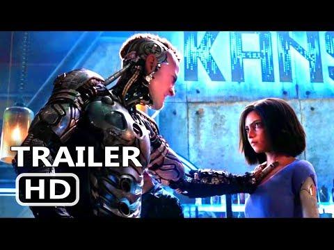 ALITA BATTLE ANGEL Trailer (Movie 2018)