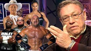 Gambar cover John Cena Sr. Shoots on 2018 WWE Hall of Fame (Goldberg, Jeff Jarrett) : Wrestling Insiders