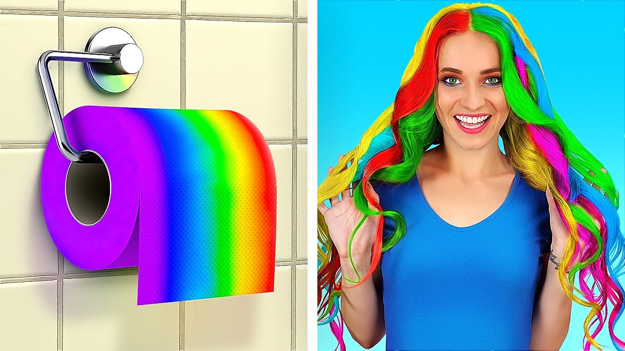 엉뚱한 화장지 꿀팁     123 GO!의 쉬운 화장지 활용 DIY 아이디어