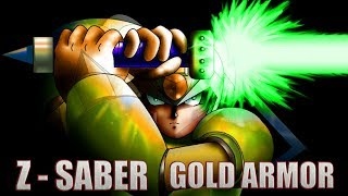 Mega Man X3 : GOLD ARMOR , Z SABER , all Bosses , Doppler and Zigma ( NO DAMAGE )