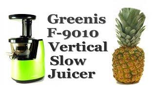 соковыжималка Greenis F-9010 обзор