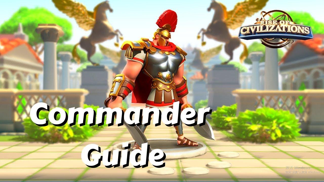 Commander Guide: Scipio, master of open field combat | Rise of Civilizations #1