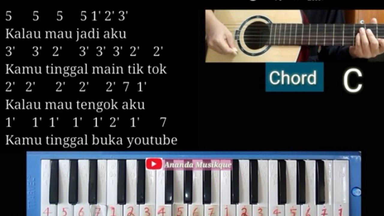 Not Pianika Kamu Adalah Inspirasiku Dj Not Pianika Lagu Untuk Kamu Alyssa Dezek Tiktok Youtube