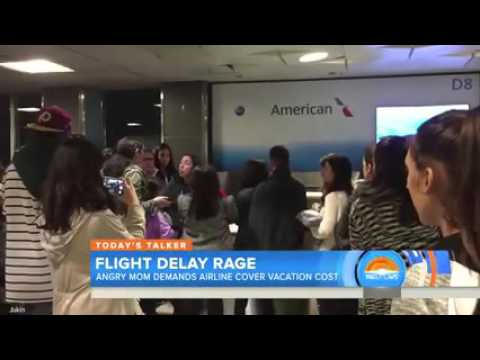 Mom's meltdown over flight delay, missed Disney cruise, goes viral