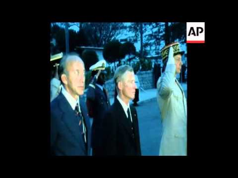SYND 7 8 76 FRENCH PRESIDENT GISCARD D ' ESTING ARRIVES IN LIBREVILLE