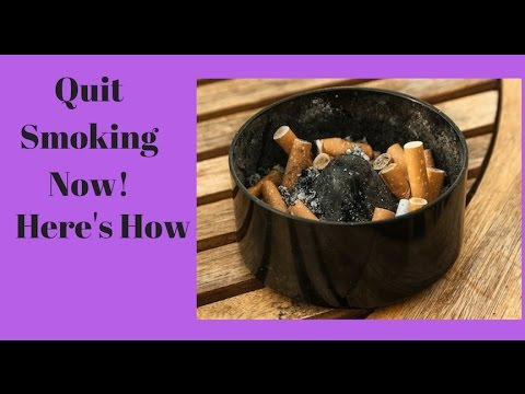 How To Stop Smoking In 3 Days!