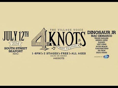 Brian McManus Interview (curator of the Village Voice's 4Knots Music Festival)