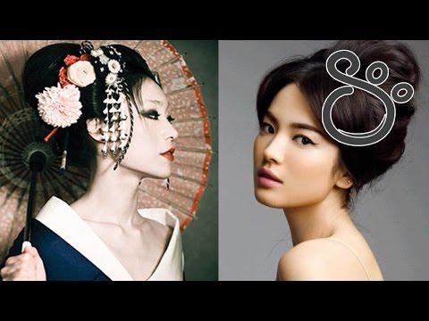 Высокие прически и украшения для волос в Японии | Shtukensia