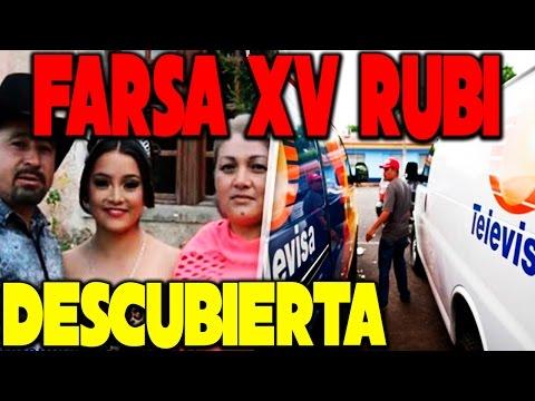 LA FARSA XV AÑOS DE RUBI ES DESCUBIERTA // GASOLINAZO 2017