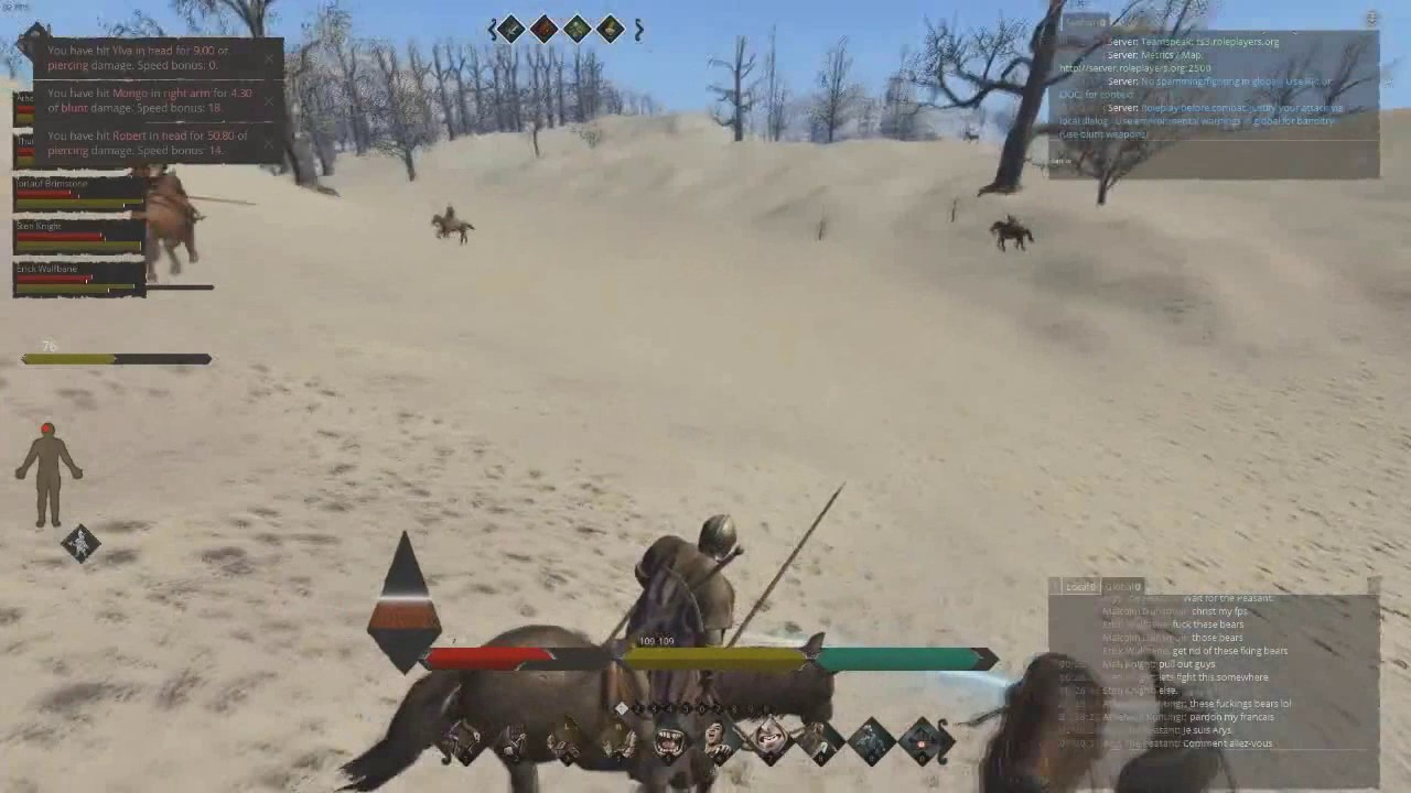 Life is Feudal PVP Feudal Realms : 4vs8 Darkwoods Fight