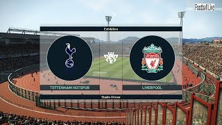 PES 2019 | Tottenham vs Liverpool FC | Mo Salah Super Amazing Goals | Gameplay PC