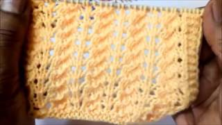 Latest easy Jaali pattern for sweaters
