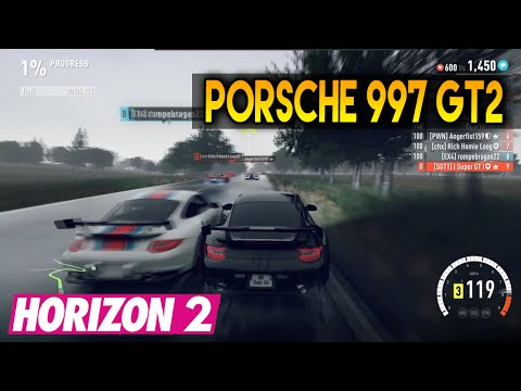 forza horizon 2 porsche 997 gt2 race tune youtube. Black Bedroom Furniture Sets. Home Design Ideas