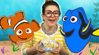 Finding Nemo DIY Fishbowl Night Light Craft | Arts And Crafts With Crafty Carol At Cool School