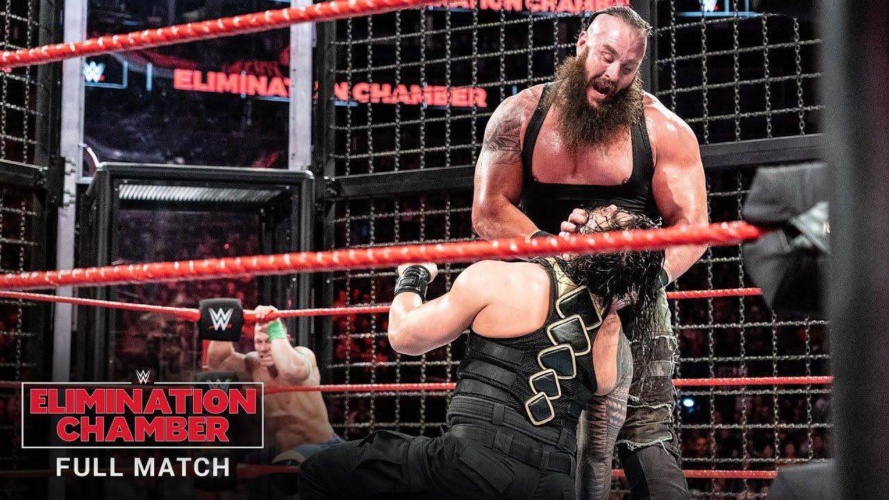 Download FULL MATCH - Men's Elimination Chamber Match: WWE Elimination Chamber 2018