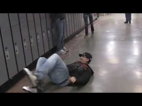Centennial High School Hallway Swimming Calgary Youtube