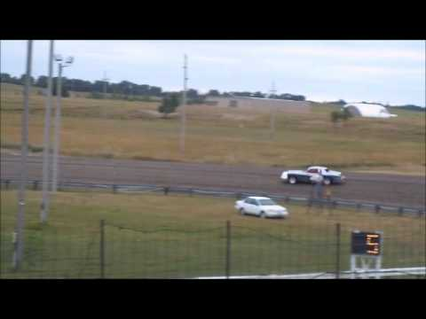 8/4/13 Hobby Stock Heat race at Sheyenne River Speedway
