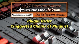 Plugin Order (Suggested Chains of Plugins)
