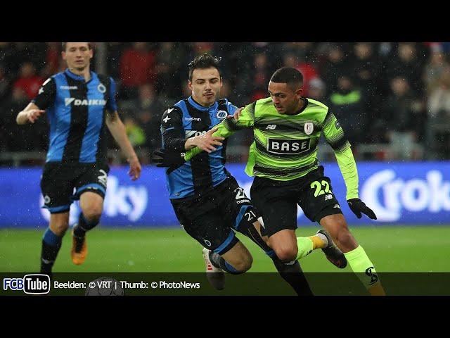 2017-2018 - Croky Cup - 04. Halve Finale - Standard - Club Brugge 4-1