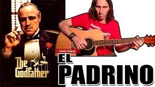 Como Tocar El Padrino En Guitarra Acústica: Tutorial Fácil TCDG