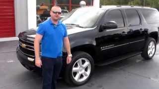 2007 Chevrolet Suburban Black