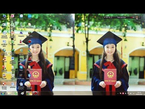 Cách đổi Màn Hình Máy Tính Tự Chuyển Hình ảnh Tự động Cho MT Win 7