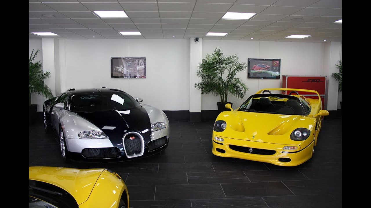 Tom Hartley Epic Supercar Dealership Walkaround Two Bugatti