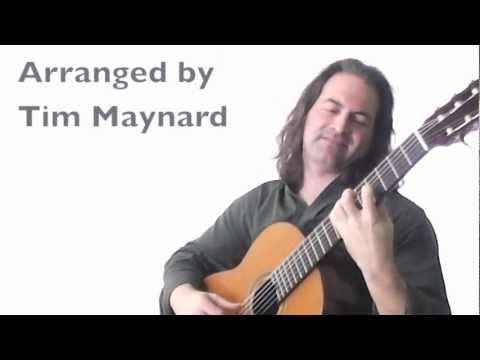My arrangement of 'Little Martha' by Duane Allman