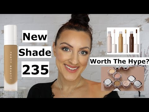 NEW Fenty Beauty Review | Concealer, Setting Powder and Foundation Shade 235