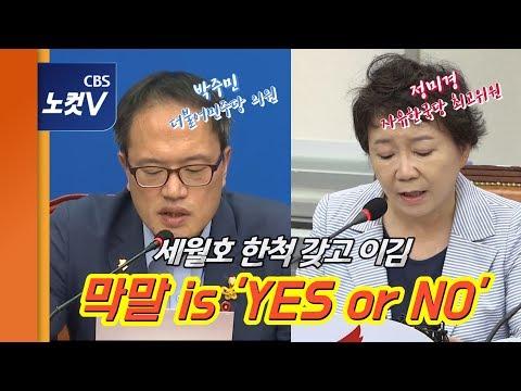 """정미경 """"''세월호 한 척'이 뭐가 막말?""""…박주민 """"절망스럽다"""""""