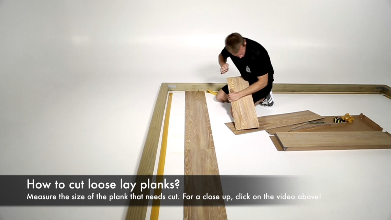 How To Cut Loose Lay Planks Evolved Floors
