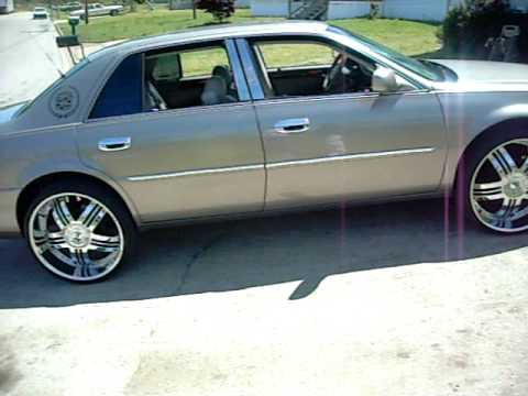 Big Whippers Cadillac Deville On 24 S Youtube
