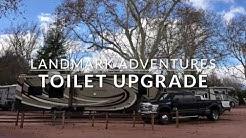 Upgrading our RV's Toilet | Landmark Adventures