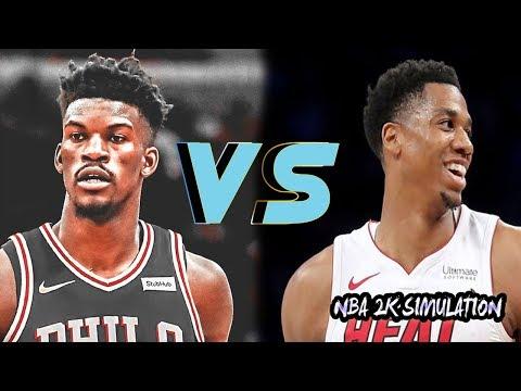Philadelphia 76ers vs Miami Heat - Full Game | Nov 12, 2018 | NBA 2k19