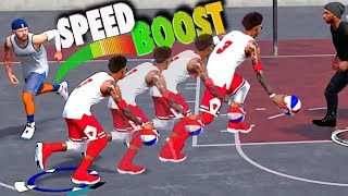 NBA 2k18 Playground - Did I Just SPEED BOOST?