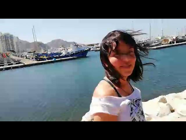Turistas 'azotados' por 'La Loca' en la Bahía