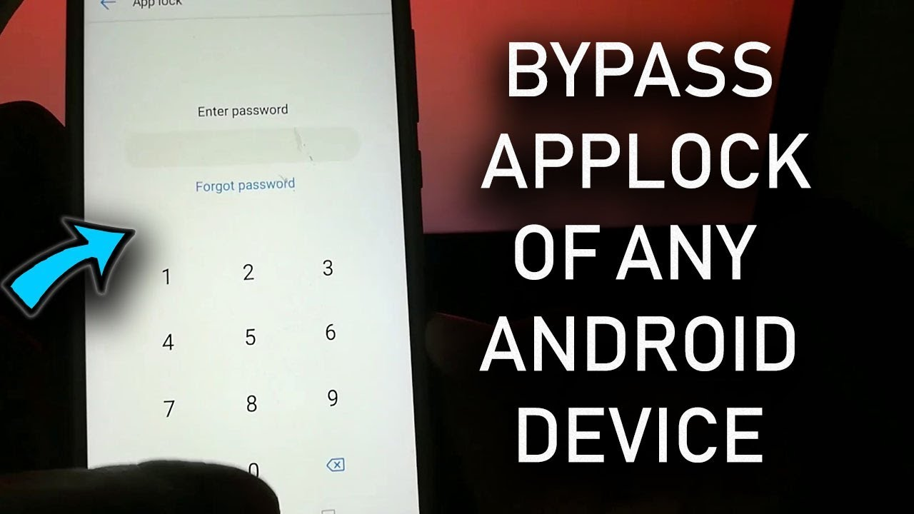 How to Bypass Applock of Oppo Honor Xiaomi to open File Manager