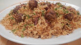 Chicken Meatball Pulav | Sanjeev Kapoor Khazana