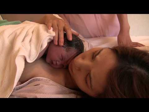 自然分娩で三度目の出産 やっと出会えた感動に思わず涙